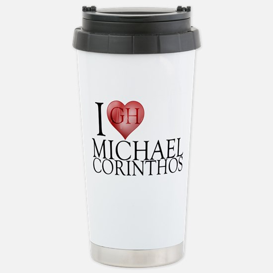 I Heart Michael Corinthos Stainless Steel Travel M