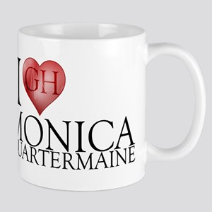 I Heart Monica Quartermaine 11 oz Ceramic Mug
