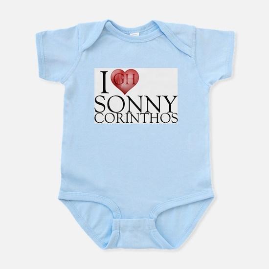 I Heart Sonny Corinthos Infant Bodysuit