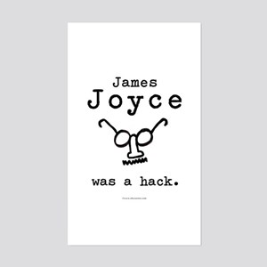 James Joyce Hack Rectangle Sticker