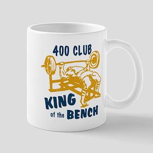 400 Club Bench Press Mug
