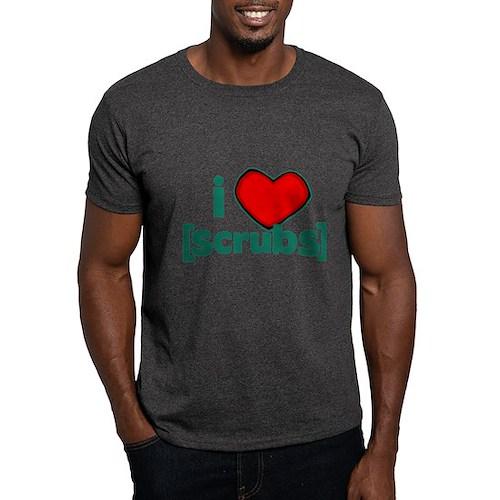 I Heart Scrubs Dark T-Shirt