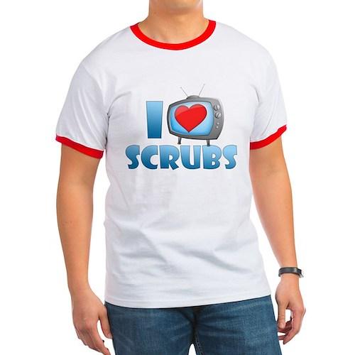 I Heart Scrubs Ringer T