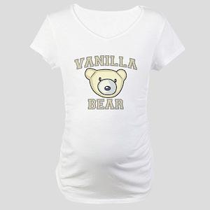 Vanilla Bear Maternity T-Shirt