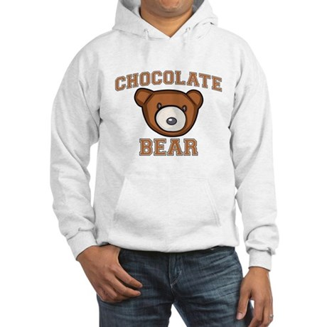 Chocolate Bear Hooded Sweatshirt