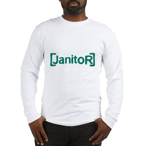 Scrubs Janitor Long Sleeve T-Shirt