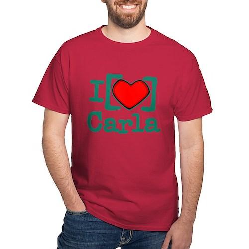 I Heart Carla Dark T-Shirt