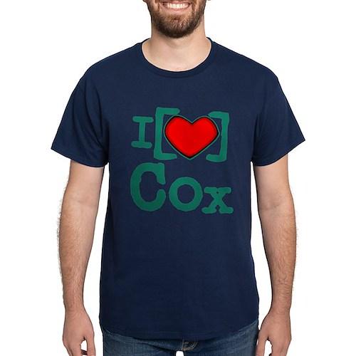 I Heart Cox Dark T-Shirt