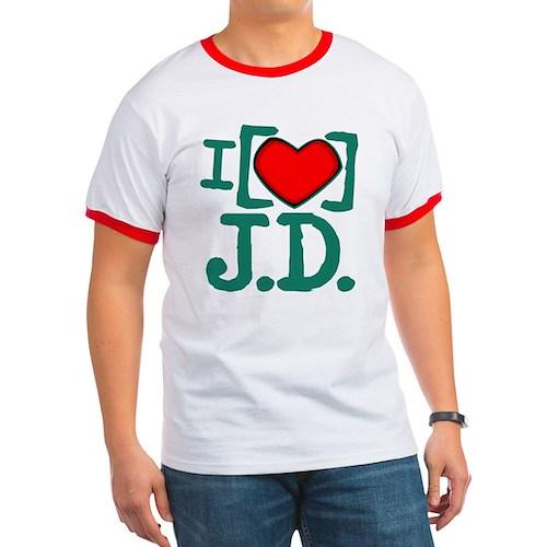 I Heart J.D. Ringer T