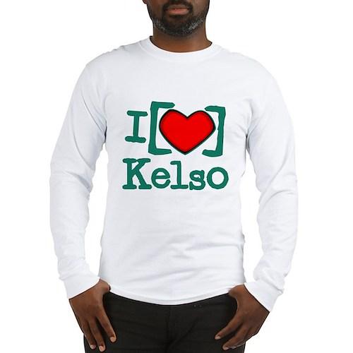 I Heart Kelso Long Sleeve T-Shirt