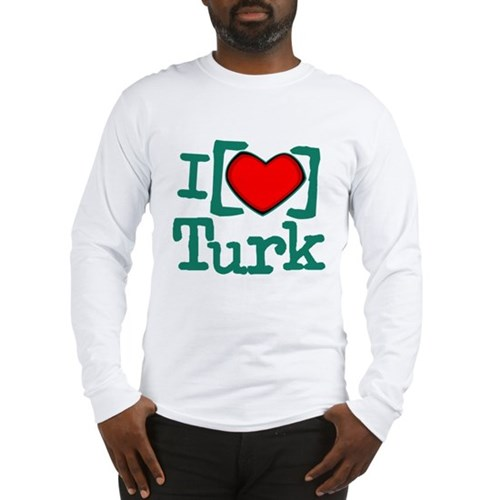 I Heart Turk Long Sleeve T-Shirt