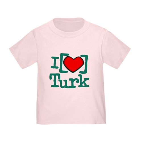 I Heart Turk Toddler T-Shirt