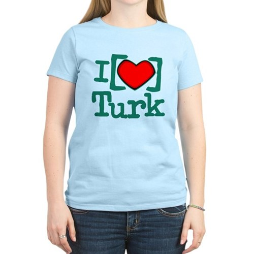 I Heart Turk Women's Light T-Shirt