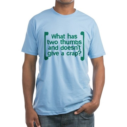 Two Thumbs Fitted T-Shirt