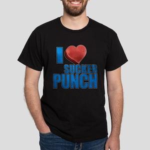 I Heart Sucker Punch Dark T-Shirt