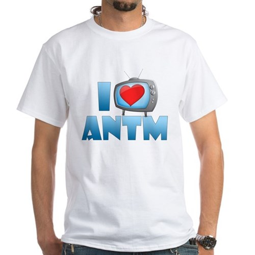I Heart ANTM White T-Shirt