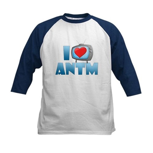 I Heart ANTM Kids Baseball Jersey
