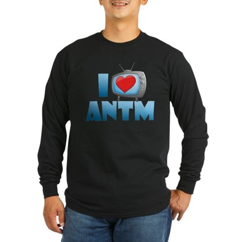 I Heart ANTM Long Sleeve Dark T-Shirt