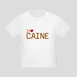 I Heart Caine Toddler T-Shirt