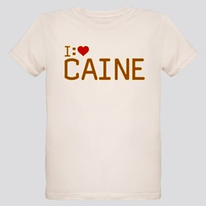 I Heart Caine Organic Kids T-Shirt