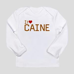 I Heart Caine Long Sleeve Infant T-Shirt