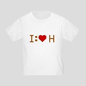 I Heart H Toddler T-Shirt