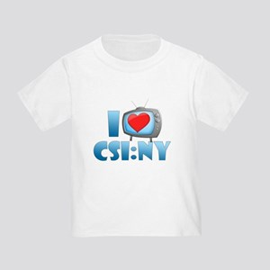 I Heart CSI: NY Toddler T-Shirt
