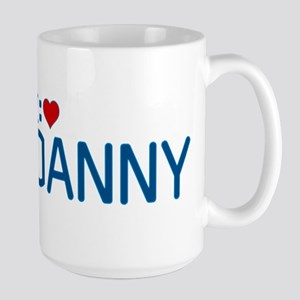 I Heart Danny Large Mug