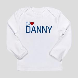 I Heart Danny Long Sleeve Infant T-Shirt