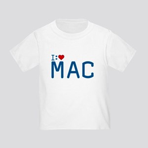 I Heart Mac Toddler T-Shirt