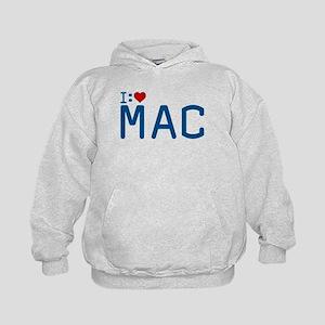 I Heart Mac Kids Hoodie