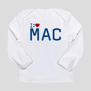 I Heart Mac Long Sleeve Infant T-Shirt