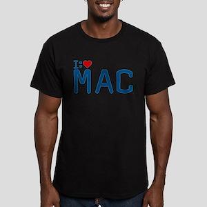 I Heart Mac Men's Fitted T-Shirt (dark)