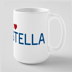 I Heart Stella Large Mug