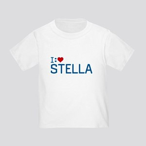 I Heart Stella Toddler T-Shirt