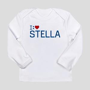 I Heart Stella Long Sleeve Infant T-Shirt