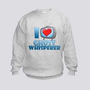 I Heart Ghost Whisperer Kids Sweatshirt