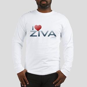 I Heart Ziva Long Sleeve T-Shirt