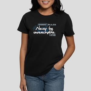 Gibbs' Rules #3 Women's Dark T-Shirt