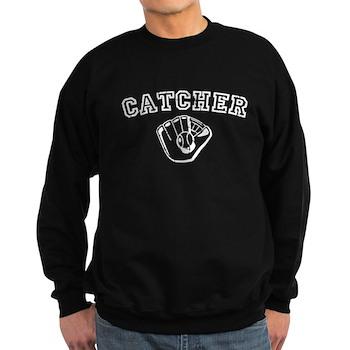 Catcher - White Dark Sweatshirt