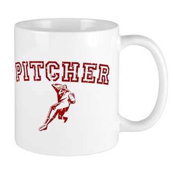 Pitcher - Red Mug