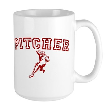 Pitcher - Red Large Mug