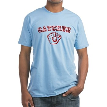Catcher - Red Fitted T-Shirt
