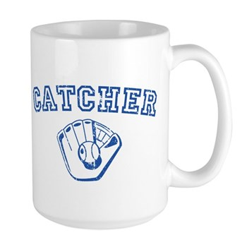 Catcher - Blue Large Mug