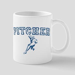 Pitcher - Blue Mug