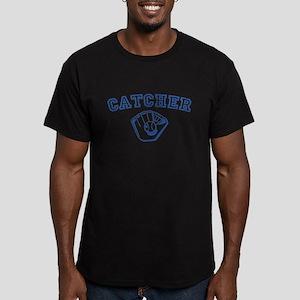Catcher - Blue Men's Fitted T-Shirt (dark)