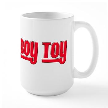 Boy Toy - Red Large Mug