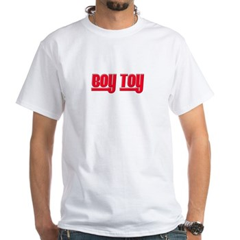Boy Toy - Red White T-Shirt
