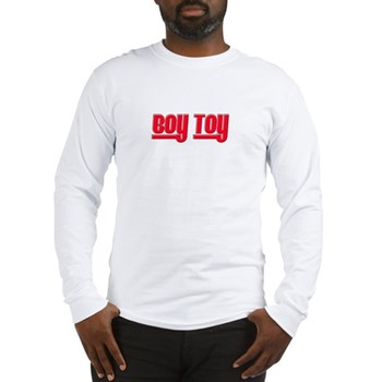 Boy Toy - Red Long Sleeve T-Shirt