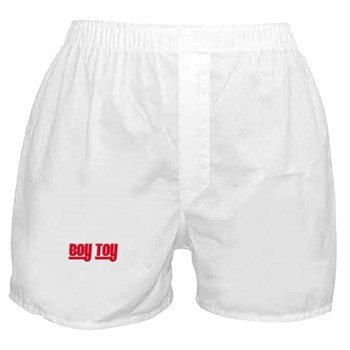 Boy Toy - Red Boxer Shorts